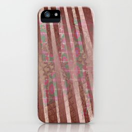 Flowers and lines S12 iPhone Case