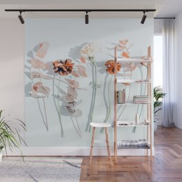 Minima #phoography #floral Wall Mural