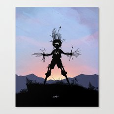 Groot Kid Canvas Print