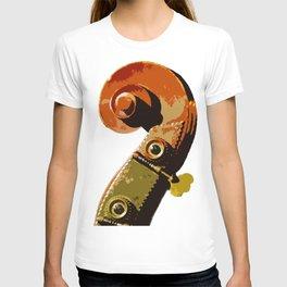 Bass scroll T-shirt