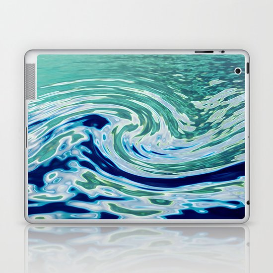OCEAN ABSTRACT 2 Laptop & iPad Skin