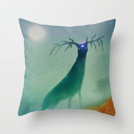 SPIRIT WORLD RISING Throw Pillow