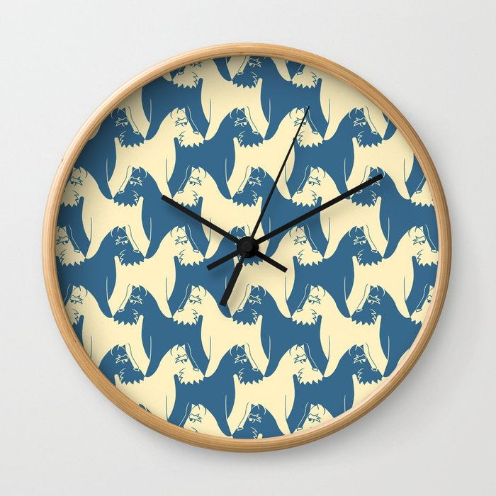 Dog Pattern Schnauzer M C Escher Inspired Artwork By