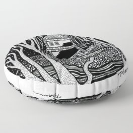 ONE FALL NIGHT Floor Pillow