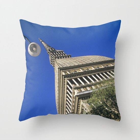 Mole Antonelliana Throw Pillow