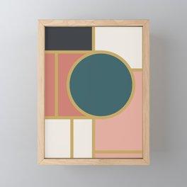 Maximalist Geometric 05 Framed Mini Art Print