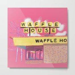 Pretty Waffle House Metal Print