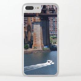 Under The Queensboro Bridge Clear iPhone Case