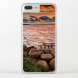New Brunswick Vibes Clear iPhone Case