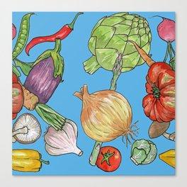 Veggie Fix Canvas Print