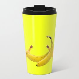 Consulting Yellow Bananas on Yellow Travel Mug