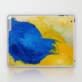 Blue in Yellow Laptop & iPad Skin