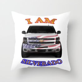 Silverado Patriot Throw Pillow