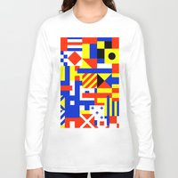 sail Long Sleeve T-shirts featuring Sail by Jan Luzar