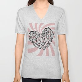 Love Conquers Hate Unisex V-Neck
