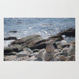 Balancing Serenity Rocks Rug