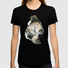 Sleepy Gulo gulo watercolor T-shirt