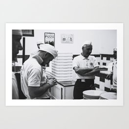 Pizzeria da Michele Art Print