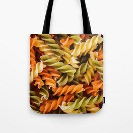 Pasta Noodles Pattern (Color) Tote Bag