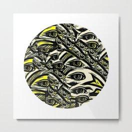 Jens Doddle Metal Print