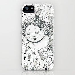 Sweet Dreams by Ines Zgonc iPhone Case
