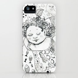 Sweet Dreams by Ines Zgonc iPhone Case