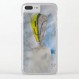 I´m Fine Clear iPhone Case