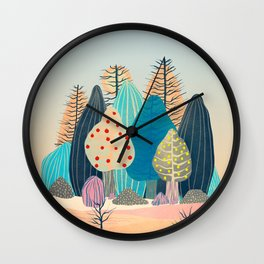 Spring landscapes 2 Wall Clock
