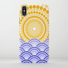 LIGHT OF DAWN (abstract tropical) iPhone Case