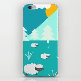 Grazing sheep iPhone Skin