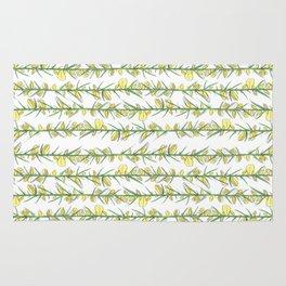 Manx flora - gorse Rug