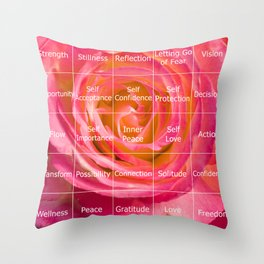 Querencia Quilt Throw Pillow