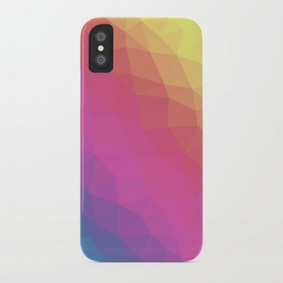 Spectrum Tris iPhone Case