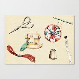 Sew & Sew  Canvas Print