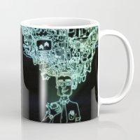 geek Mugs featuring GEEK by taniavisual
