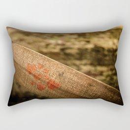 In particular wood Rectangular Pillow