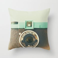 Oh Diana Throw Pillow
