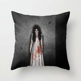 The dark cellar Throw Pillow