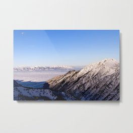 Wasatch Sunrise Metal Print