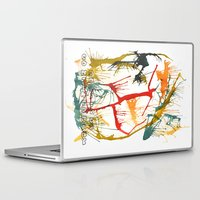 politics Laptop & iPad Skins featuring Contemporary Politics by Andready