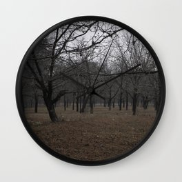 Dusk / Capturing Change Wall Clock