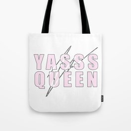 YASSS QUEEN (PINK) Tote Bag