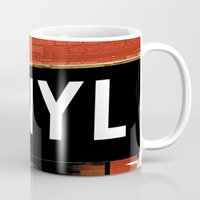 vinyl Mugs featuring Vinyl by Biff Rendar