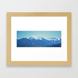 Mont Blanc Framed Art Print