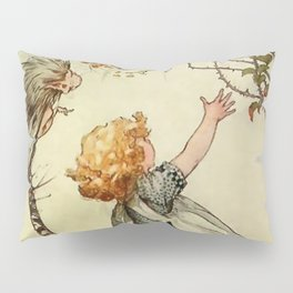 """Bother the Wind"" by Duncan Carse Pillow Sham"