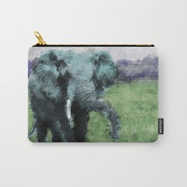 Pachyderm Blues Carry-All Pouch