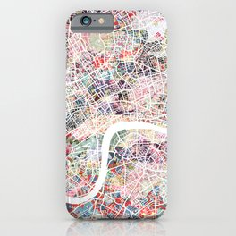 London map iPhone Case