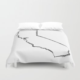 California State Duvet Cover