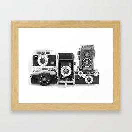 Vintage Camera Collection Framed Art Print