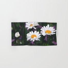 Garden Daisies Hand & Bath Towel